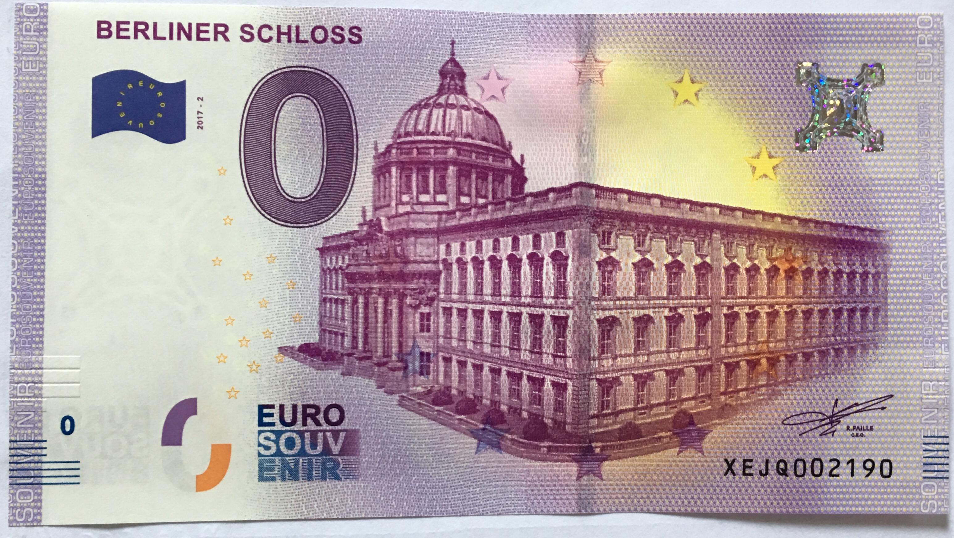 Null Euroschein
