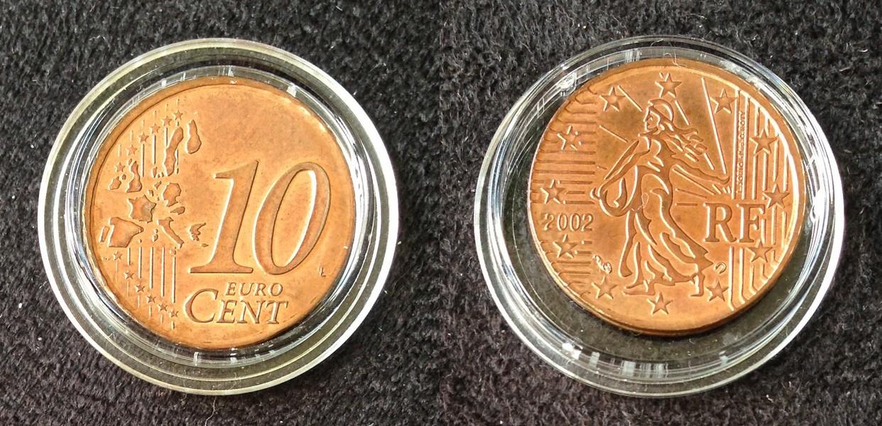 Selten Fehlprägungen Euromünzen Zu Austauschen