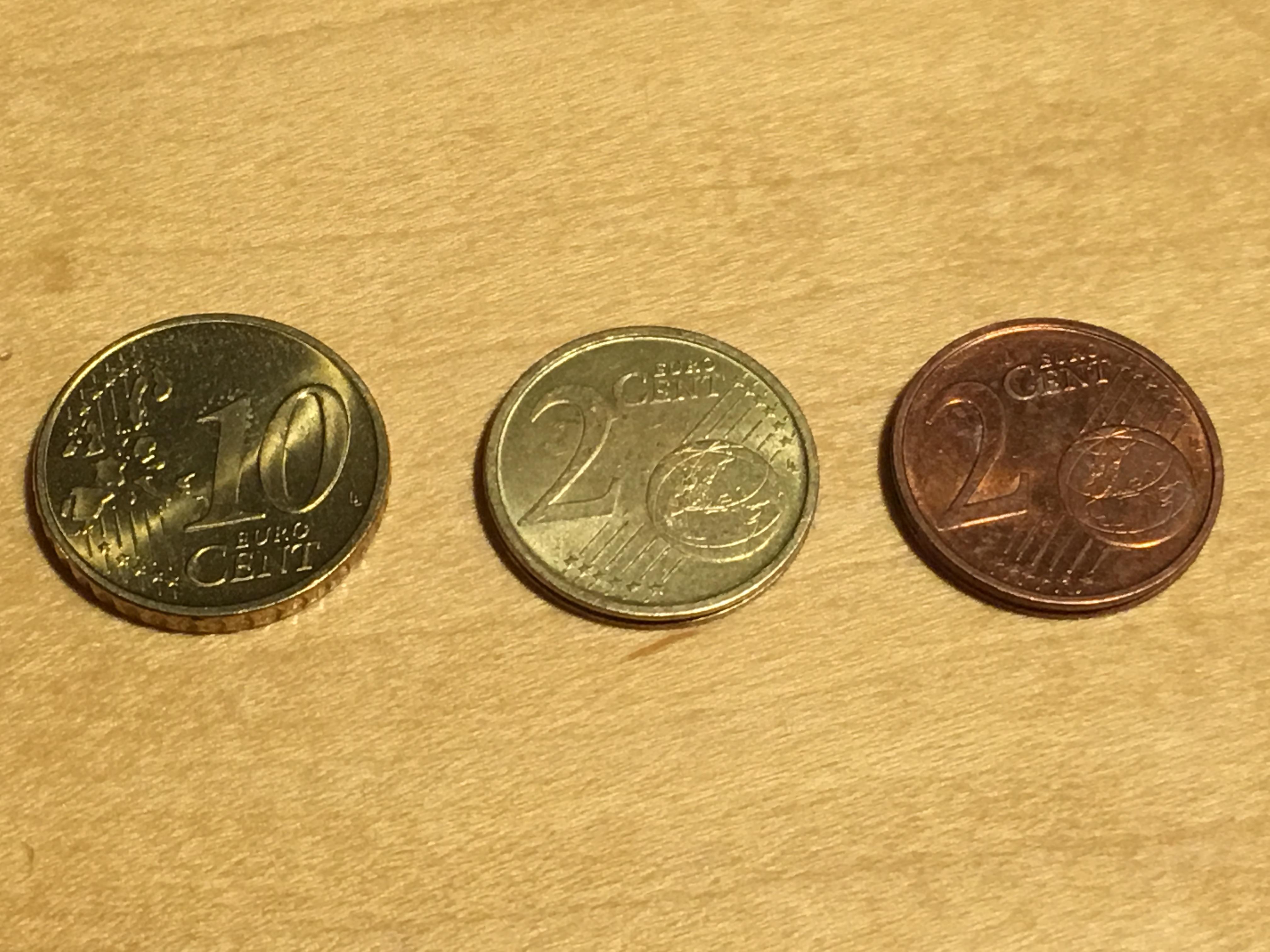 2 Cent Münzefehlprägung