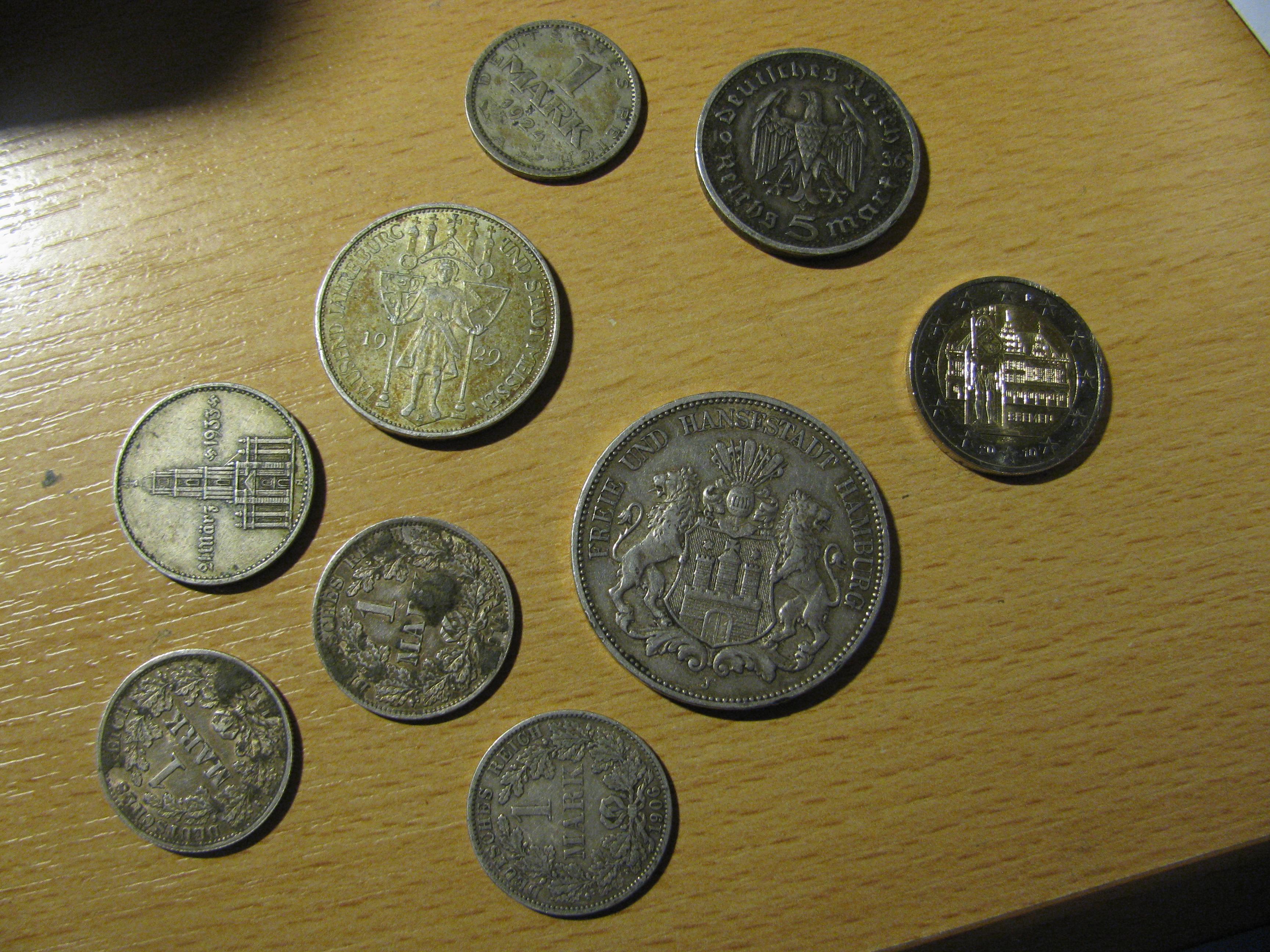 10 Dm Münzen Reinigen