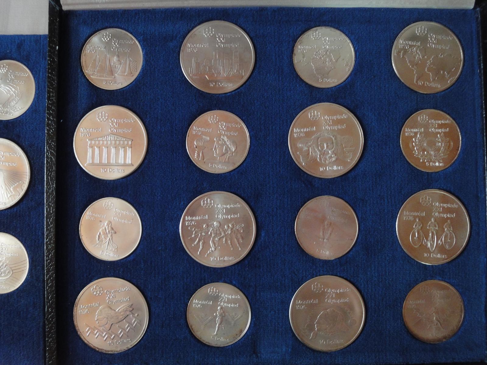 Olympia Münzen Montreal 1976
