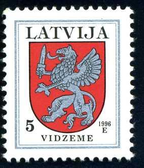 LV 250 1996 Wappen 5 Vidzeme.jpg