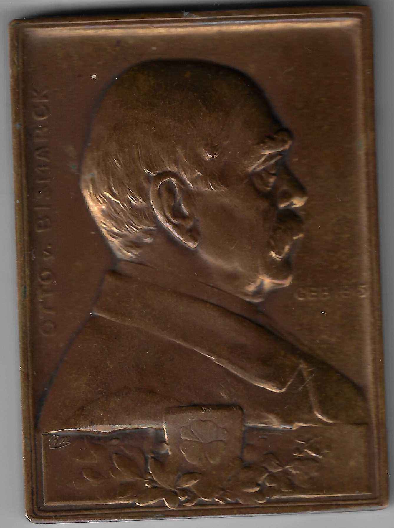 Medaille 1898 BH Mayer Rudolf Mayer Otto von Bismarck vorne.jpg