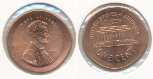 One Cent Usa Lincoln Liberty Fehlprägung