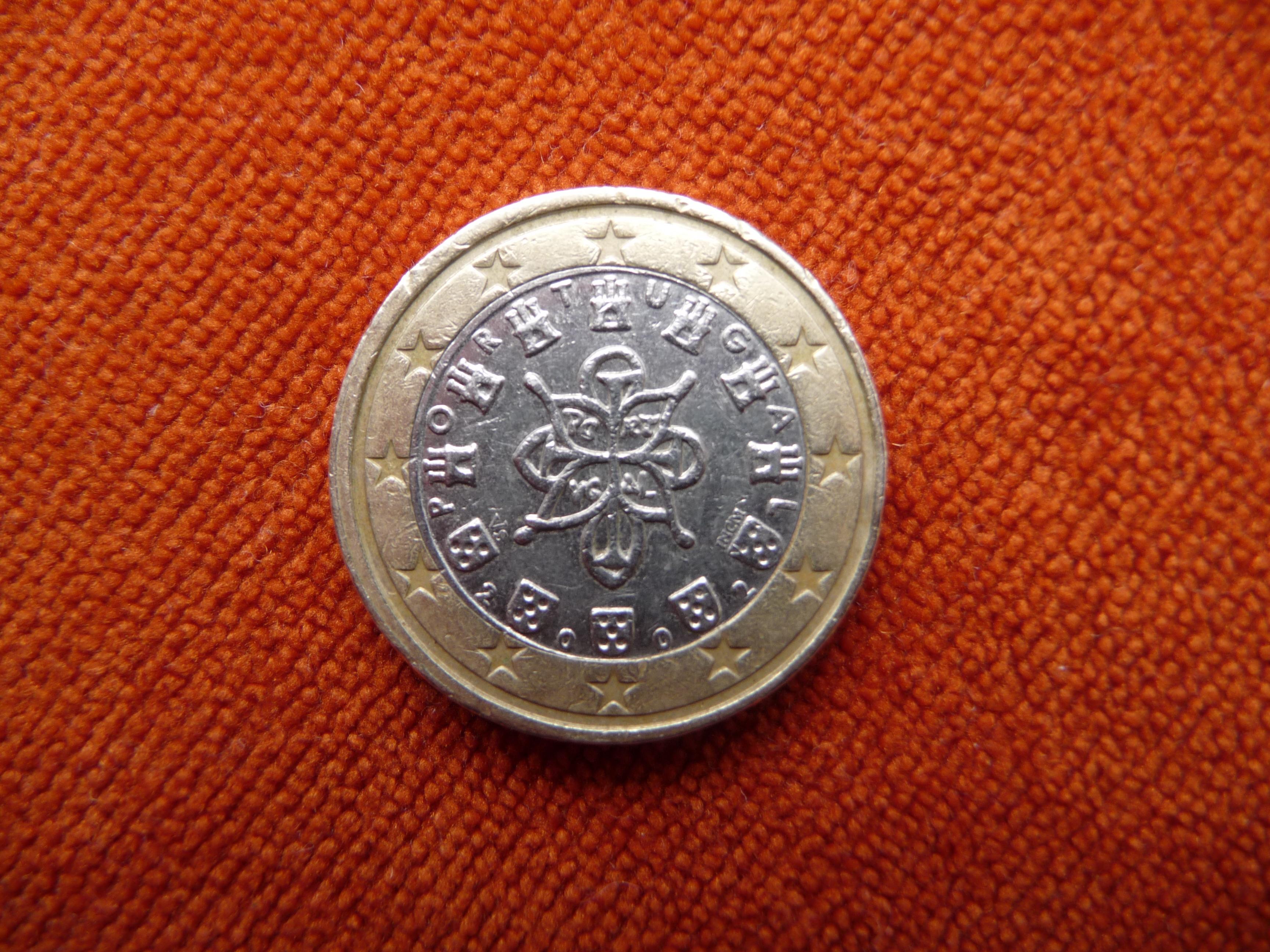 1 Euro Fehlprägung Portugal 2002
