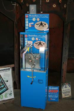 Wer Weiß Wo Souvenir Prägeautomaten Stehen