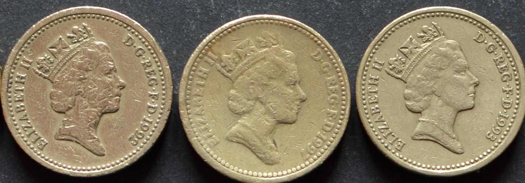 1 Pfund Münze 1985 Echt Oder Fälschung