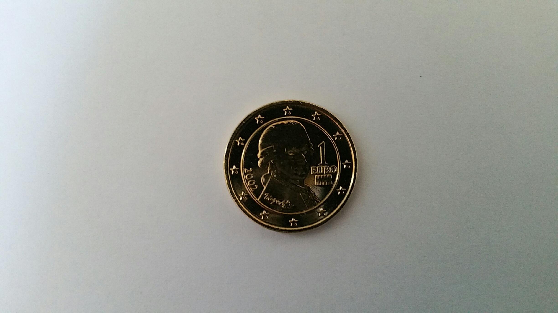 1 Euro Münze österreich Fehlprägung