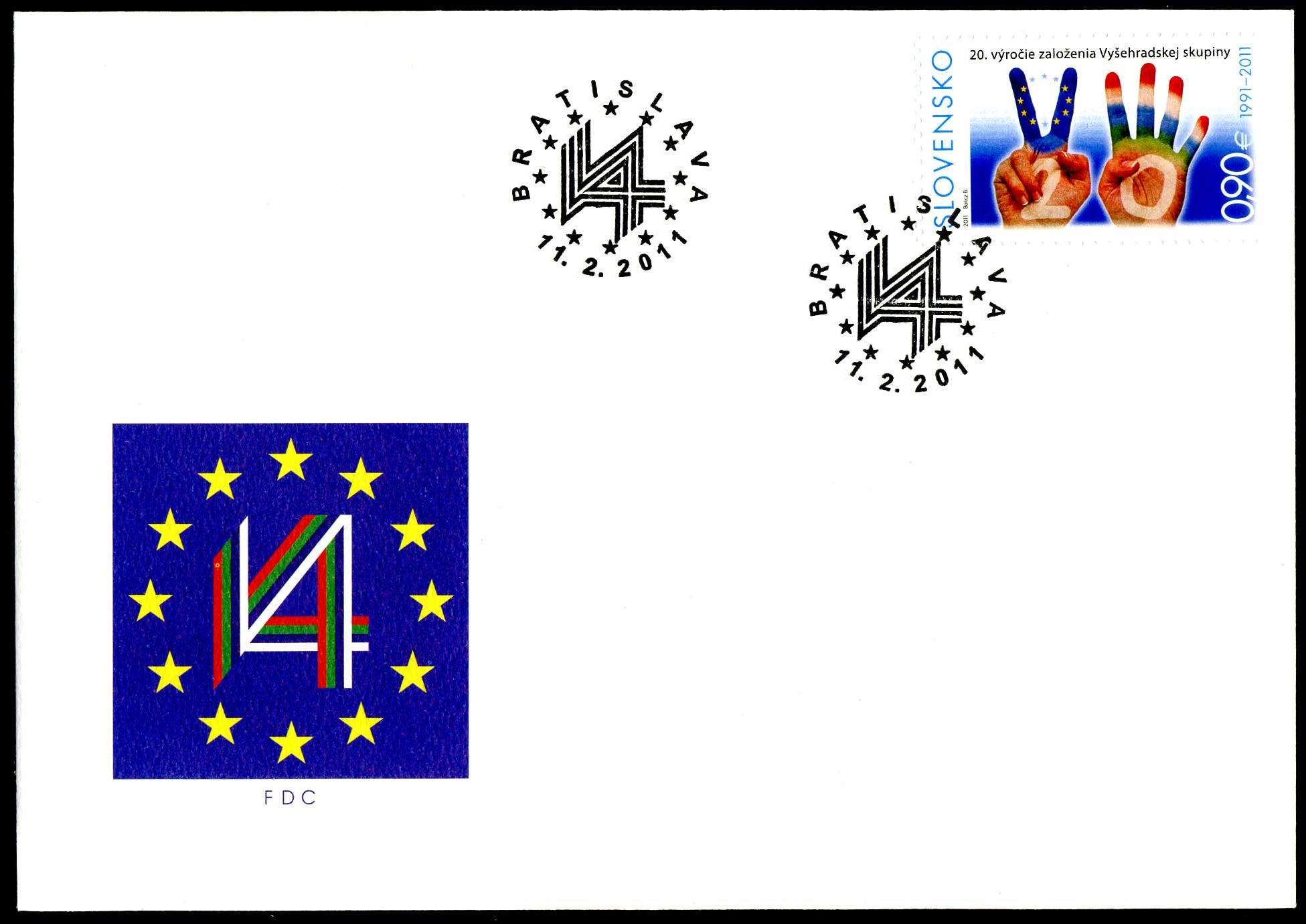 SK 089 2011 Visegrad Ersttagsbrief 1.jpg