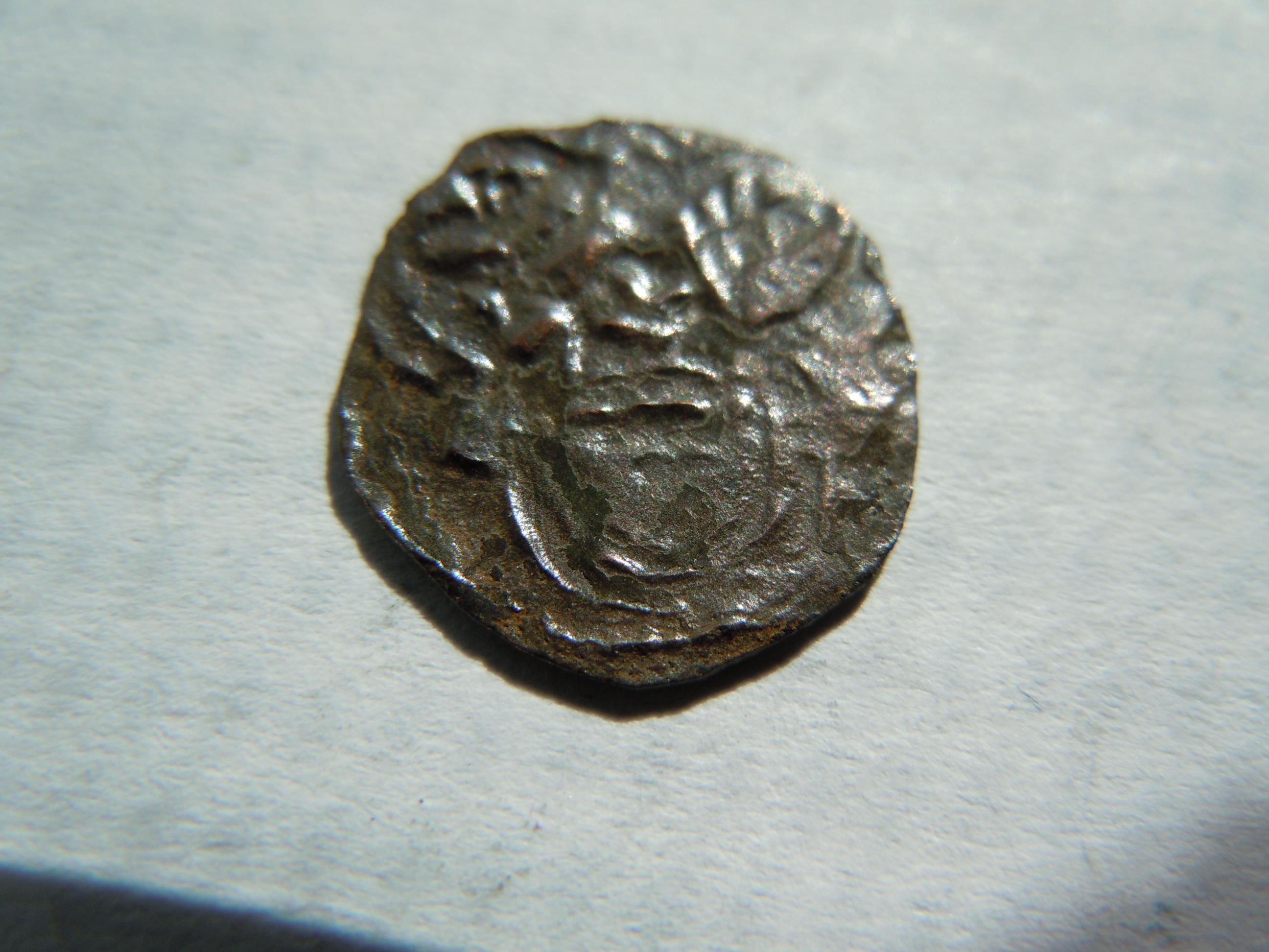 unbekannte Münze 0,35 gr und ca. 13 mm Diamenter.JPG