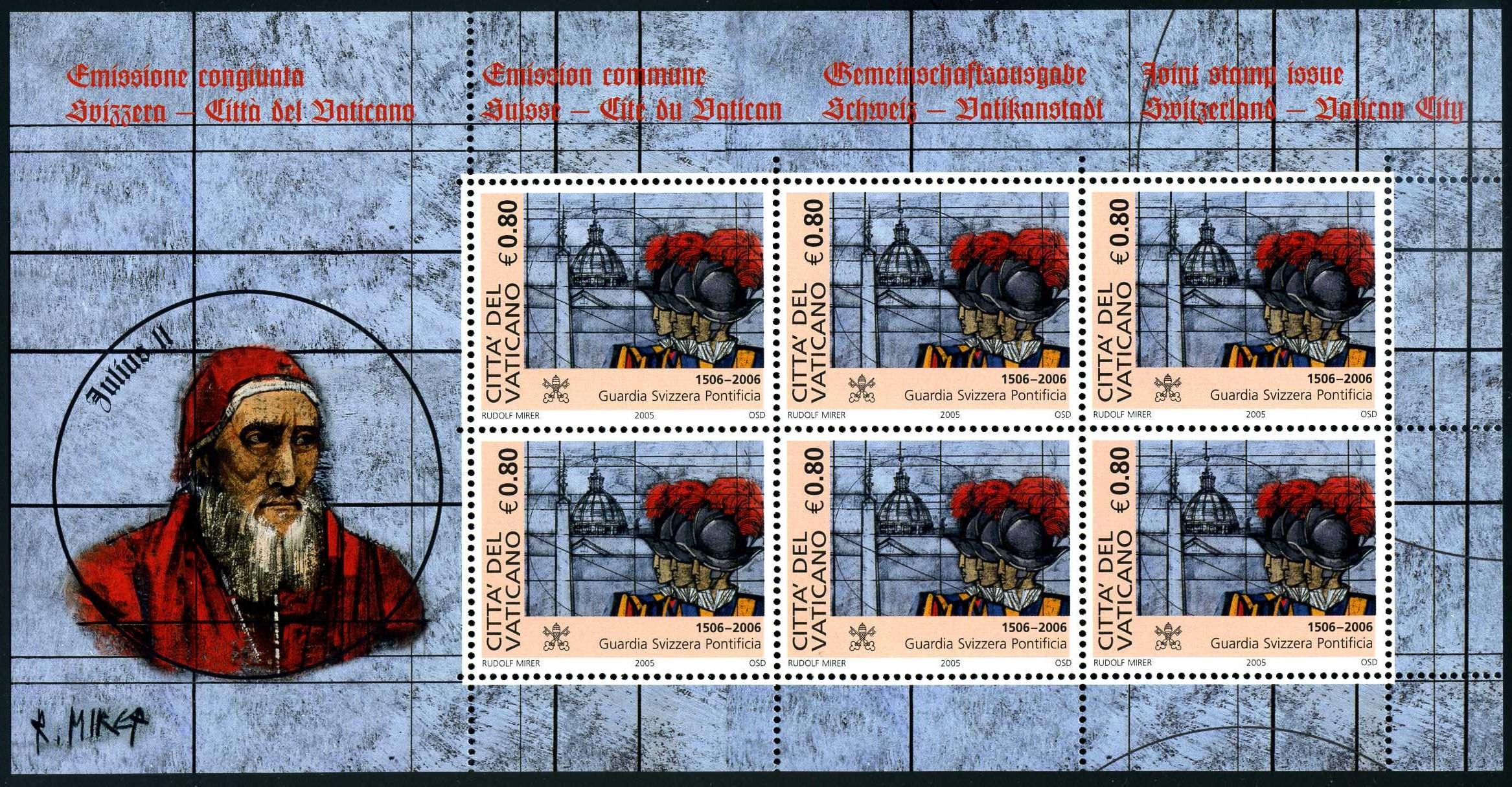 VA 021 2006 Schweizer Garde Block 0,80.jpg