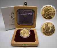 Österreich : 100 Euro Bildhauerei, inkl. Originalholzkassette und Zertifikat  2002 Stgl.