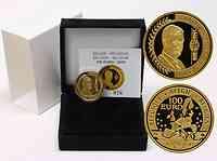 Belgien 100 Euro 50. Geburtstag Philipp 2010 PP GOLD