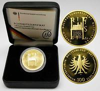 Deutschland : 100 Euro Quedlinburg Buchstabe unserer Wahl  2003 Stgl.