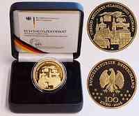 Deutschland 100 Euro Weimar inkl. Originaletui und Zertifikat 2006 Stgl.