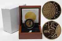Finnland : 100 Euro 150 Jahre Finnische Mark inkl. Originaletui und Zertifikat  2010 PP