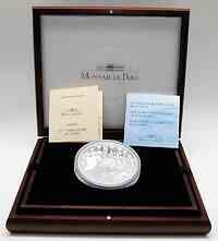 Frankreich : 50 Euro 1. Geburtstag des Euro - Gewicht der Münze : 1 Kg , in Originalholzkassette mit Zertifikat  2003 PP