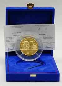 Frankreich : 100 Euro Benjamin Franklin inkl. Originaletui und Zertifikat  2006 PP 100 Euro Benjamin Franklin