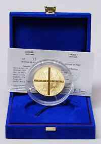 Frankreich : 100 Euro Lourdes inkl. Originaletui und Zertifikat  2008 PP 100 Euro Lourdes
