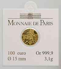Frankreich : 100 Euro Säerin original verpackt  2008 Stgl. 100 Euro Säerin 2008