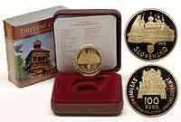 Slowakei : 100 Euro Holzkirchen in den Karpaten inkl. Originaletui und Zertifikat  2010 PP