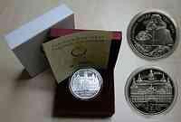 Österreich : 10 Euro Schloß Eggenberg, incl. Originaletui und Zertifikat  2002 PP