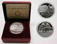 Österreich : 10 Euro Schloß Schönbrunn inkl. Originaletui und Zertifikat  2003 PP