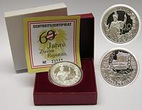 Österreich : 10 Euro 60 Jahre Zweite Republik im Originaletui  2005 PP