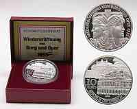 Österreich : 10 Euro Bundestheater inkl. Originaletui und Zertifikat  2005 PP