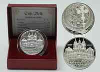 Österreich : 10 Euro Stift Melk inkl. Originaletui und Zertifikat  2007 PP