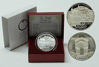 Österreich : 10 Euro St. Paul im Lavanttal inkl. Originaletui und Zertifikat  2007 PP