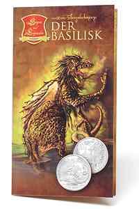 Österreich : 10 Euro Der Basilisk im Originalblister  2009 Stgl. 10 Euro Basilisk 2009
