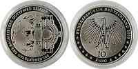 Deutschland : 10 Euro 200. Geburtstag G. Semper  2003 PP