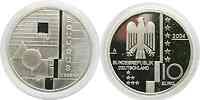 Deutschland : 10 Euro Bauhaus Dessau in Originalkapsel  2004 PP