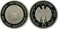 Deutschland : 10 Euro IV. Ausgabe FIFA Fußball WM Deutschland  2006  2006 PP