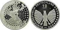 Deutschland : 10 Euro Römische Verträge in Originalkapsel  2007 PP