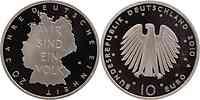 Deutschland : 10 Euro 20 Jahre Deutsche Einheit  2010 PP