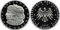 Deutschland : 10 Euro 200 Jahre Märchen der Gebrüder Grimm  2012 PP