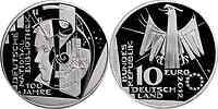 Deutschland : 10 Euro 100 Jahre Deutsche Nationalbibliothek  2012 PP