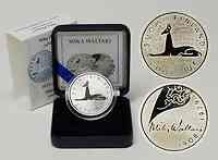 Finnland 10 Euro Mika Toimi Waltari 2008 PP
