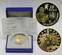 Frankreich : 10 Euro Europa-Münze, incl. Originaletui und Zertifikat  2006 PP 10 Euro Europa 2006