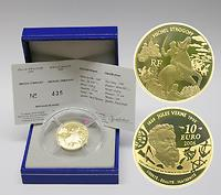 Frankreich : 10 Euro Michel Strogoff inkl. Originaletui und Zertifikat  2006 PP 10 Euro Strogoff 2006