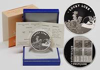 Frankreich : 10 Euro Lucky Luke inkl. Originaletui und Zertifikat  2009 PP 10 Euro Lucky Luke