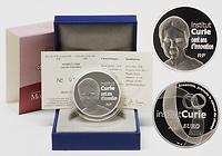 Frankreich : 10 Euro Institut Curie inkl. Originaletui und Zertifikat  2009 PP 10 Euro Marie Curie 2009