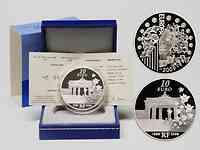 Frankreich : 10 Euro 20 Jahre Fall der Berliner Mauer inkl. Originaletui und Zertifikat  2009 PP 10 Euro Berliner Mauer
