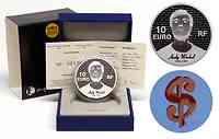 Frankreich : 10 Euro Andy Warhol  2011 PP