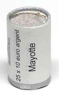 Frankreich : 250 Euro Mayotte aus der Regionen-Serie  2011 Stgl.