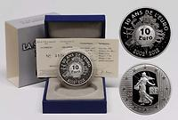 Frankreich : 10 Euro 10 Jahre Euro Bargeld  2012 PP