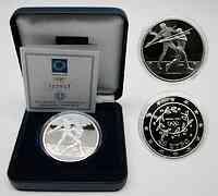 Griechenland : 10 Euro Ausgabe II. : Speerwerfer  2003 PP
