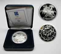 Griechenland : 10 Euro Ausgabe IV. : Reiter  2003 PP